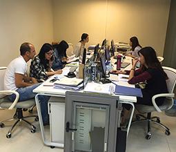 משרדים בסין עם לקוחות