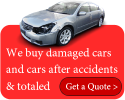 we buy damaged cars and cars after accidents