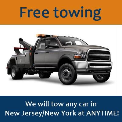 free towing junk car