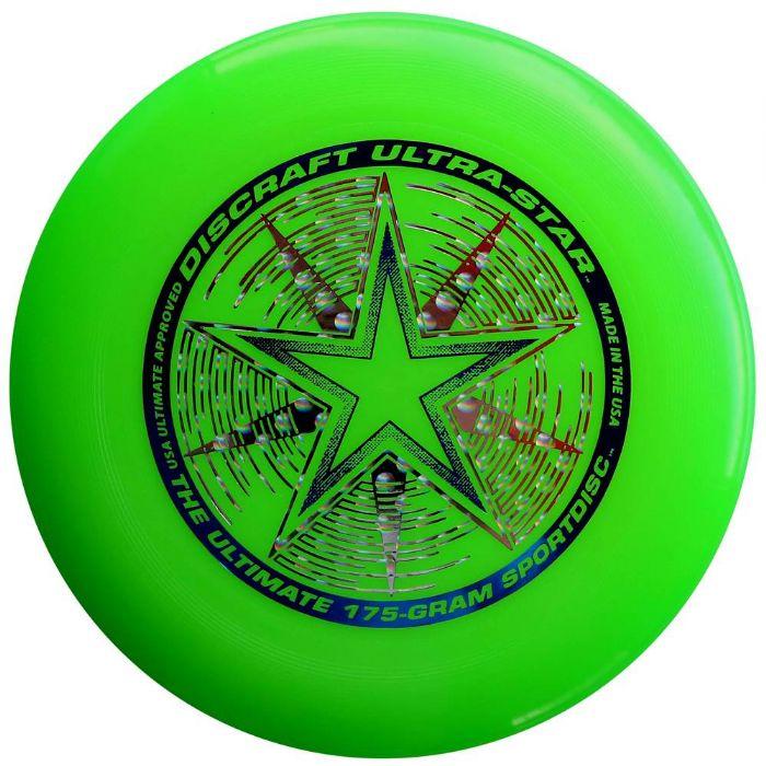 פריסבי ירוק Discraft UltraStar 175g