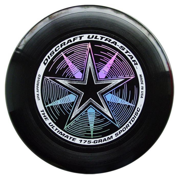 פריסבי שחור - Discraft UltraStar 175g