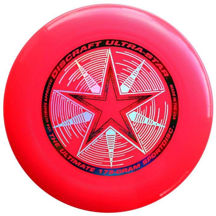 פריסבי ורוד - Discraft UltraStar 175g