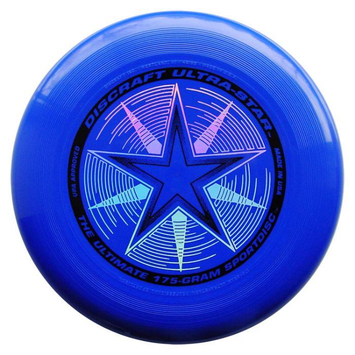 פריסבי כחול - Discraft UltraStar 175g