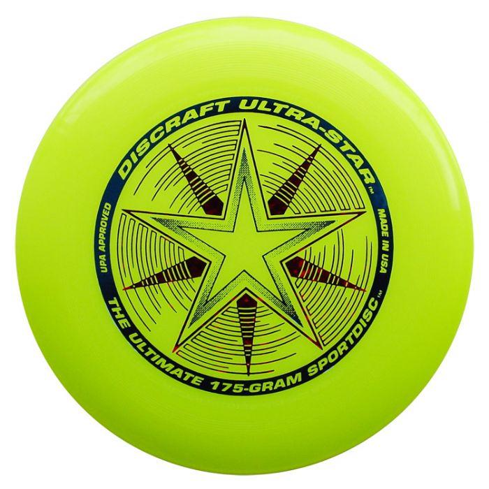 פריסבי צהוב - Discraft UltraStar 175g