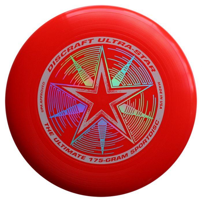 פריסבי אדום- Discraft UltraStar 175g