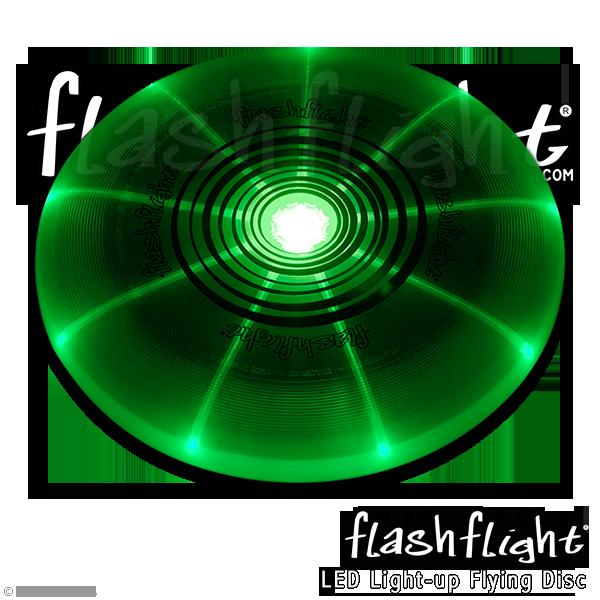 פריסבי לד זוהר בחושך - ירוק Flashflight 185 g