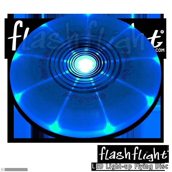 פריסבי לד זוהר בחושך - כחול Flashflight 185 g