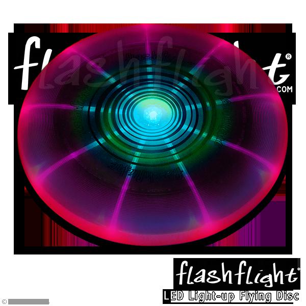 פריסבי לד זוהר בחושך - מחליף צבעים Flashflight 185 g