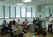 יולי 2014 - בהרצאה מרתקת בנושא חדשני: טיפולי פנים פרקשינאל