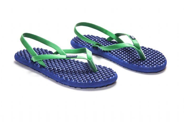 bumpers sandals // נייבי ירוק
