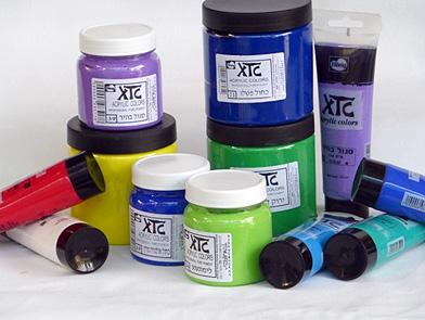 צבעי אקריליק: XTC