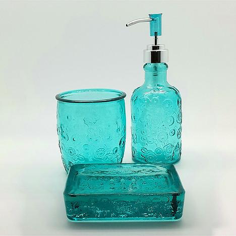 מונחים לאמבט -מלדן זכוכית ירוק-073