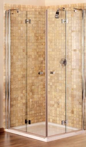 """מקלחון פינתי מיטראני מתקפל ונעלם. Hadar-HA41 -לפי מידה עד -100-100 ס""""מ מבצע"""