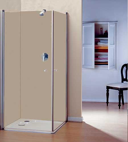 מבצע החודש במחיר מדהים-מקלחון פינתי הנעלם פתיחה פנימה והחוצה  mitrani כחול לבן.