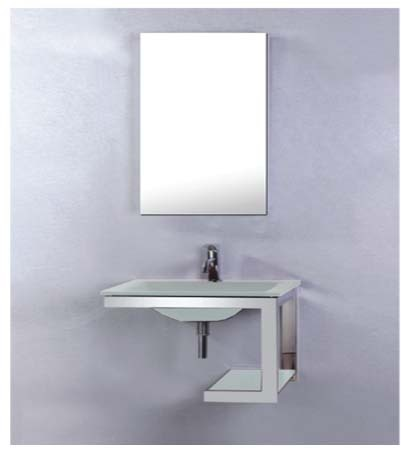 """יחידת זכוכית דגם מארס-מידה-53-40 ס""""מ.כיור זכוכית במספר גוונים."""