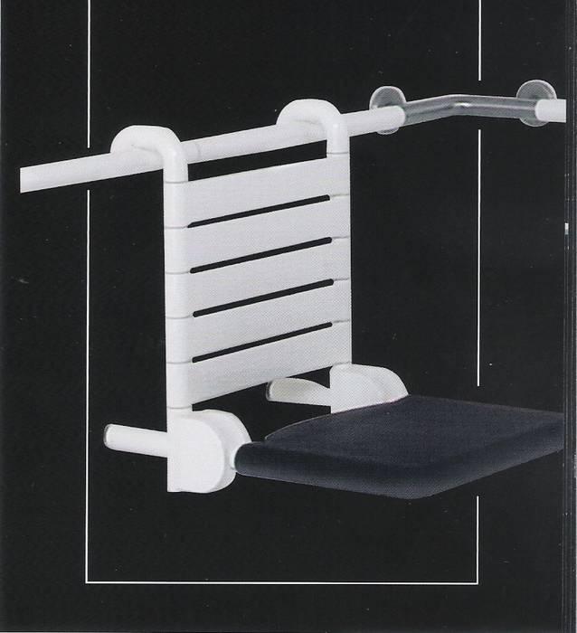 כסא מקלחת נתלה ונשלף-תוצרת גרמניה