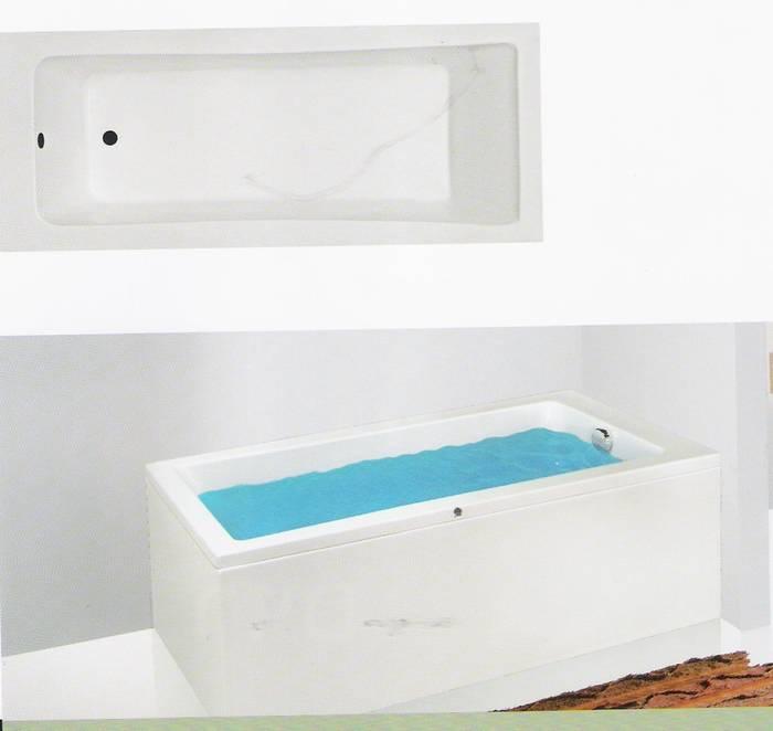 """מבצע-אמבטיה מלבנית מיוחדת-קווים ישרים-מידה 160-70 ס""""מ .ניתן לקבל בגדלים נוספים"""