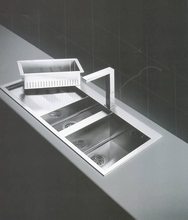 """כיור מטבח דגם amalthea-apell מידות-100 -39 ס""""מ"""