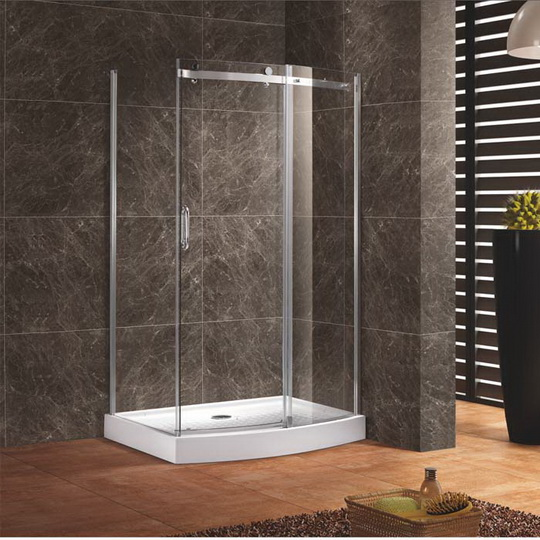מקלחון פינתי כולל אגנית דגם km4 יבוא HB אמבט חלומי.