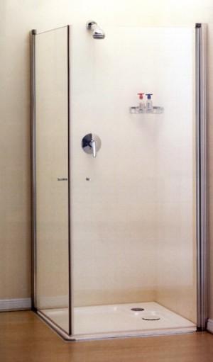 מקלחון פינתי הנעלם פתיחה פנימה והחוצה-תוצרת מיטראני כחול לבן מבצע החודש