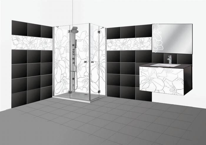 חיפוי זכוכית לאמבט-דוגמא 19 הדמיה שילוב זכוכית בחדר רחצה.