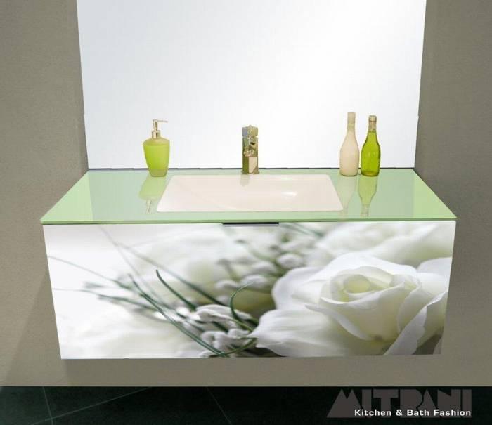 חיפוי זכוכית בחזית ארון אמבט דוגמא-26