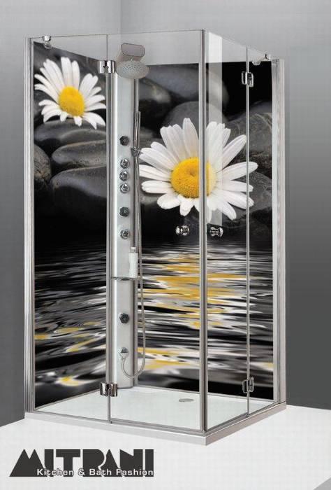 חיפוי זכוכית בפינת המקלחת דוגמא 28