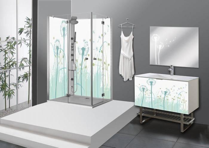 חיפוי זכוכית בשילוב בחדר המקלחת דוגמא-30