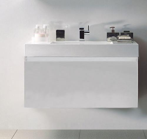 """ארון אמבטיה דגם -נרקיס לבן .מידה-100 ס""""מ.יבוא HB אמבט חלומי.אספקה מיידית."""