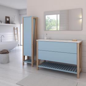 חדש-ארון אמבט דגם טוקיו.מבחר גדול של גדלים לבחירה.