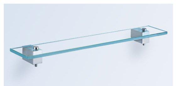 """מדף זכוכית 60 ס""""מ-סדרת פירנצה יבוא HB אמבט חלומי."""