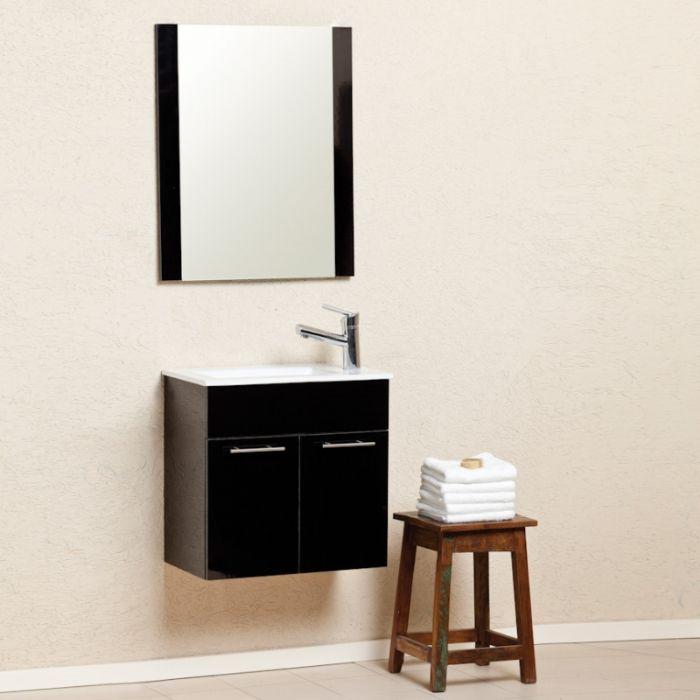 """ארון אמבטיה דגם קורל-מידה 55ס""""מ.עומק צר 33 ס""""מ.מיוחד למקלחות קטנות וצרות."""
