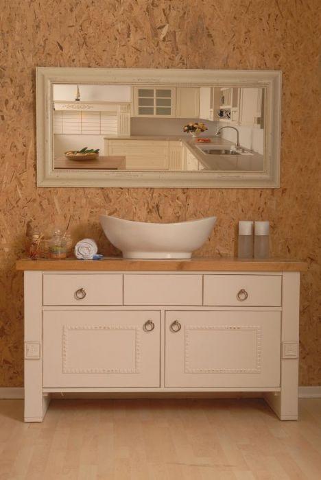 ארון אמבטיה כפרי דגם -פירנצה.להיט  מוצג בתצוגה מומלץ להגיע להתרשמות.