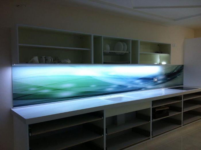 חיפוי זכוכית מודפסת-גלים