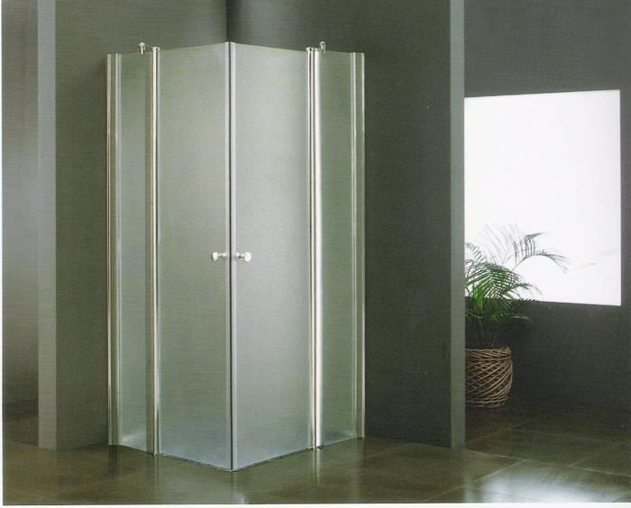 מקלחון פינתי פתיחה פנים וחוץ 2 קבועים +2 זזים-תו תקן גרמני .