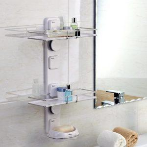 מתקן אנכי לבקבוקי שמפו וסבון מוצק.-254004