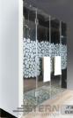 """מקלחון חזית צירים בלבד דגם-ונציה עד מידה 180 ס""""מ."""