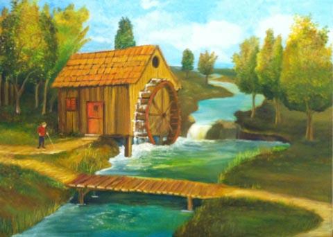 בני ריבק - צייר