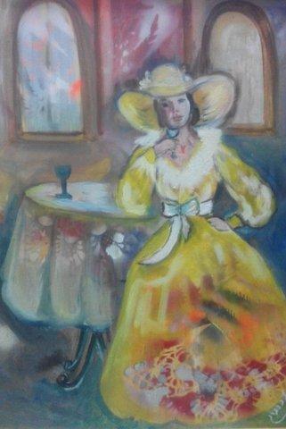 דינה זילברברג - ציירת