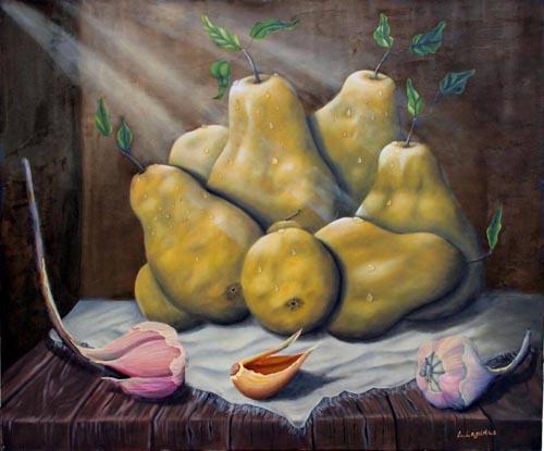 לאדה לפידוס - ציירת