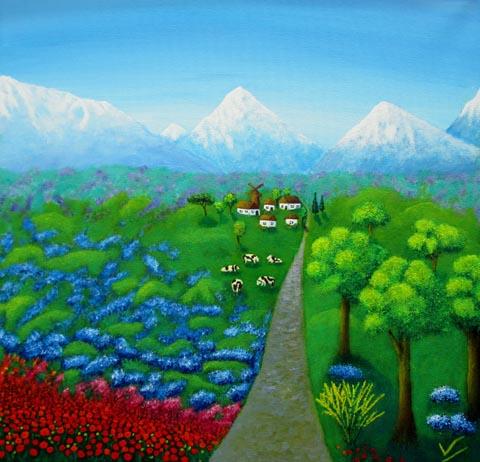 ויקטוריה ספיאנן - ציירת