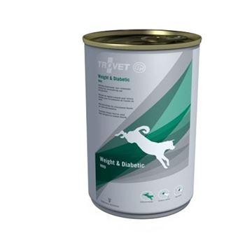 טרובט ווייט & דיאבטיק שימורים רפואי לכלב 400 גרם
