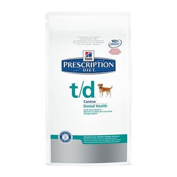 """הילס מזון רפואי T/D לכלב 10 ק""""ג"""