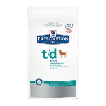 """הילס מזון רפואי T/D לכלב 3 ק""""ג"""