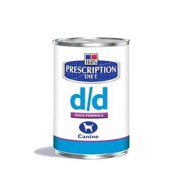 שימורי הילס מזון רפואי D/D ברווז לכלב 370 גרם