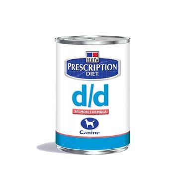 שימורי הילס מזון רפואי D/D סלמון לכלב 370 גרם