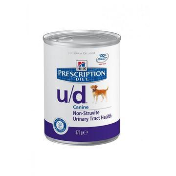 שימורי הילס מזון רפואי U/D לכלב 370 גרם