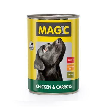 מגי'ק - נתחי בשר עוף וגזר 400 גרם