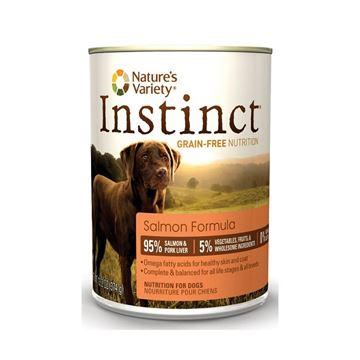 אינסטינקט סלמון שימורי מזון לכלב 374 גרם