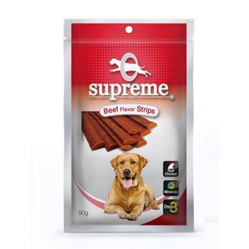 סופרים חטיף בשר לכלבים בטעם בקר 80 גרם